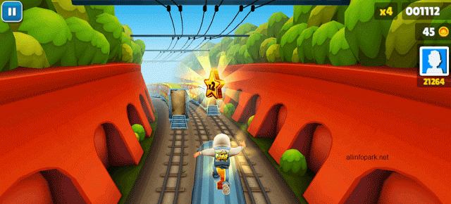6. Subway Surfers for Windows 10 2